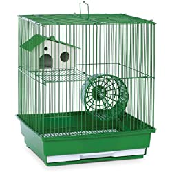 Prevue Hendryx SP2010G Two Story Hamster and Gerbil Cage, Green