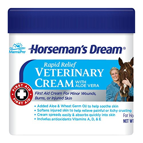 (Corona Horseman's Dream Vet Cream Jar Horse Minor Wounds Skin Soothe Conditions)