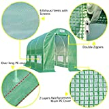 Quictent Portable Greenhouse Large Green Garden Hot House Grow Tent More Size