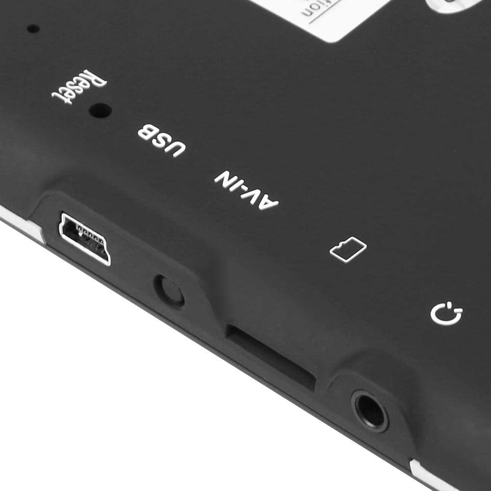 POI Blitzerwarnung Sprachf/ührung Fahrspurassistent 2021 Europa Karten 7 Zoll 8GB 256MB Touchscreen Navigation f/ür LKW PKW KFZ Navigationsger/äte f/ür Auto Navi