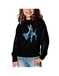 BABA League Of Legends Dat Ashe Children Cute Casual Hoodie Black