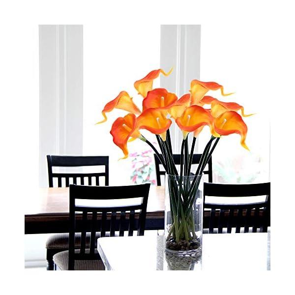 GTIDEA-20PCS-Artificial-Calla-Lily-Flowers