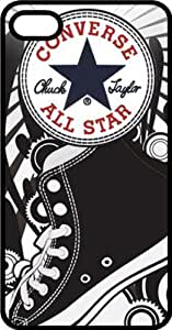 Converse All Stars Black Rubber Case for Apple iPhone 5 or iPhone 5s
