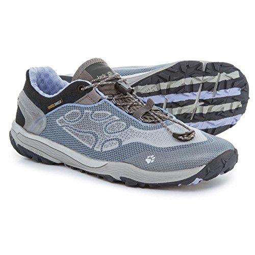 (ジャックウルフスキン) Jack Wolfskin レディース ランニング?ウォーキング シューズ?靴 Crosstrail Shield Low Trail Running Shoes [並行輸入品]