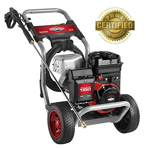 505 2.8-GPM 3400-PSI Gas Pressure Washer with 1150 Series OHV 250cc Engine and Axial Cam Pump, Engine Oil Included ()