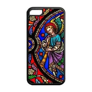 Custom Christian Secret Angel Design TPU Case Protector For Iphone 5C hjbrhga1544