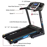 Gymax Electric Folding Cardio Exercise Treadmill Fitness Jogging Running Machine Treadmill w/ Incline (Classic)