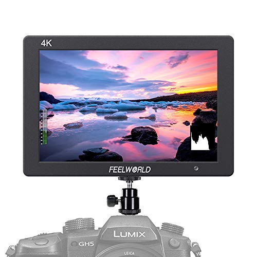 FEELWORLD T7 7 Inch DSLR Camera Field Monitor Video Assist IPS Full HD 1920×1200 Solid Aluminum Housing with 4K HDMI Input Output Peaking Focus False Colors