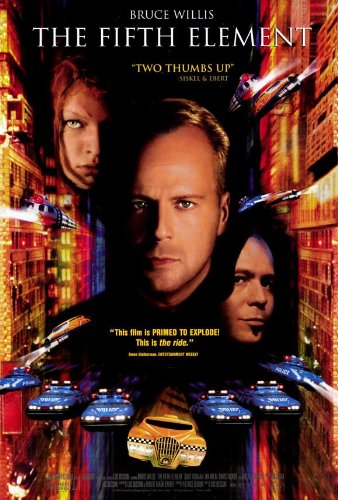The Fifth Element Poster Movie C 11x17 Bruce Willis Gary Oldman Ian Holm Milla Jovovich (Bruce Willis Poster)