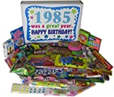 Woodstock Candy 1985 33rd Birthday Gift Box of Nostalgic Retro Candy for a 33 Year Old Man or Woman - 80s Decade