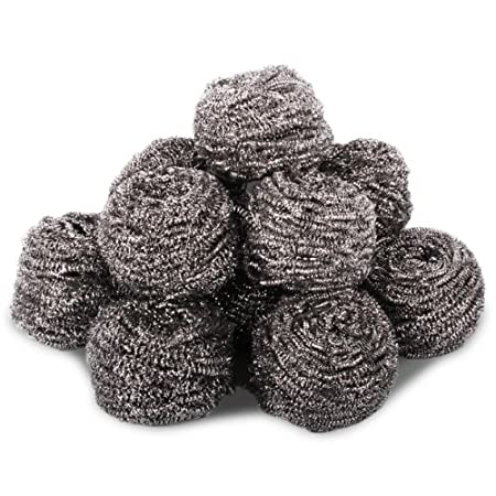 Burning Stainless Steel Scourers