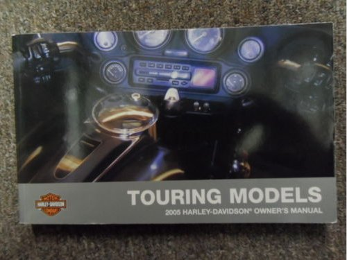 2005 Harley Davidson Touring Owners Manual FACTORY DEALERSHIP OEM BOOK USED x