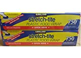 Kirkland Signature Stretch-Tite Plastic Wrap - 12 x 750 feet - 2 pk