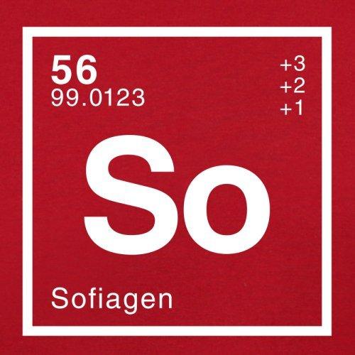 Periodic Element Red Dressdown Flight Sofia Retro Bag BgCnF1