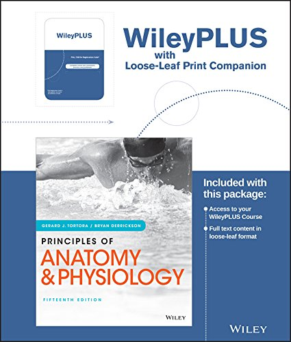 1119343739 - Principles of Anatomy and Physiology, 15e WileyPLUS Registration Card + Loose-leaf Print Companion