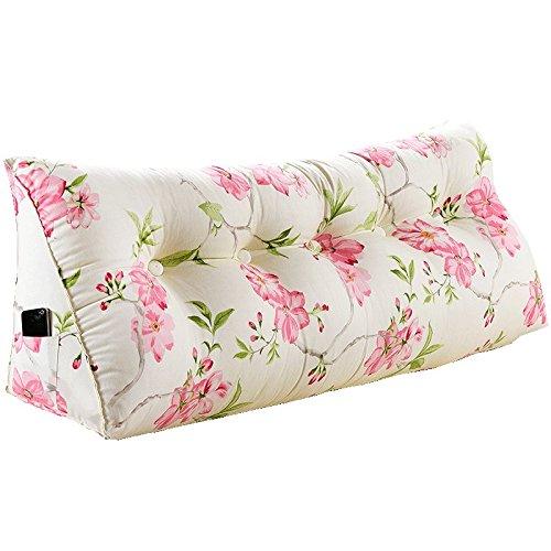 クッション ベッドサイドの背もたれの枕のベッド大きな背もたれのベッドのクッションソフトケースのクッション腰の枕簡単に洗ってサイドストレージバッグを洗浄する 枕 (色 : 1, サイズ さいず : 120*23*50cm) B07F5WNNRT 120*23*50cm|1 1 120*23*50cm