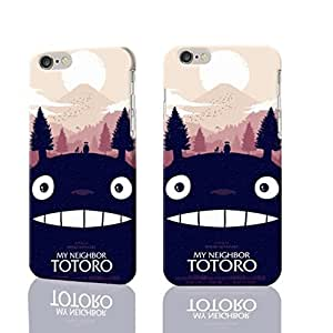 "Funny Totoro and FriendsTotoro and Friends 3D Rough iphone Plus 6 -5.5 inches Case Skin, fashion design image custom iPhone 6 Plus - 5.5 inches , durable iphone 6 hard 3D case cover for iphone 6 (5.5""), Case New Design By Codystore"