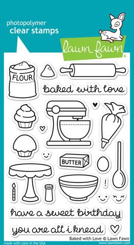 r Stamp - Baked With Love ()