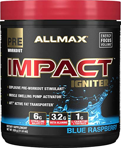 10 best impact preworkout for 2019