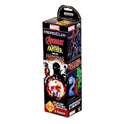 WizKids Marvel Heroclix: Avengers Black Panther & The Illuminati Booster: Toys & Games