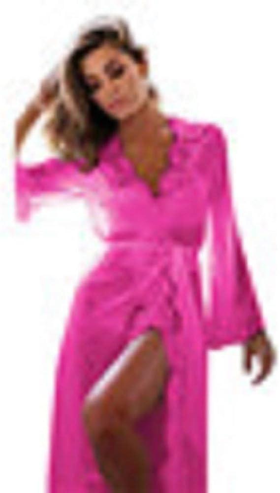 Amazon.com: LowProfile mujeres lencería Causal Kimono de ...