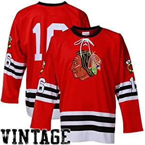 NHL Mitchell & Ness Bobby Hull Chicago Blackhawks Authentic Throwback Jersey - Red