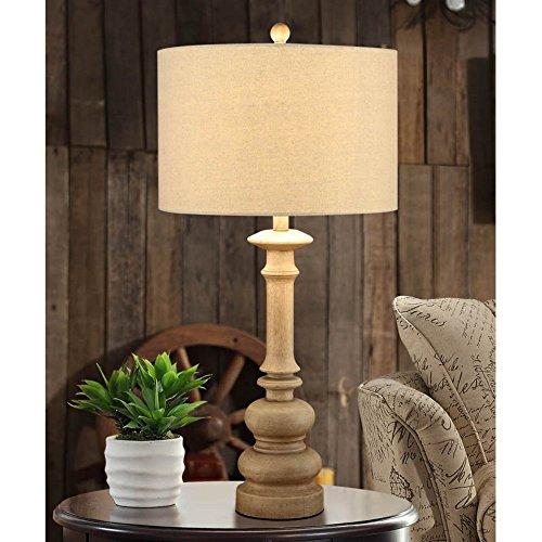 Creek Classics Tan Table Lamp