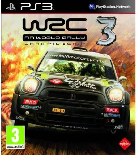 WRC 3 FIA World Rally Championship PS3 NEW SEALED PlayStation 3 ...