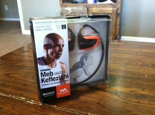 NWZ W262 Water Resistant Walkman Player