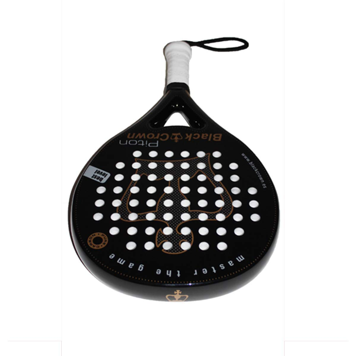 Amazon.com : Black Crown | Piton Padel Racket Paddle Racquet ...