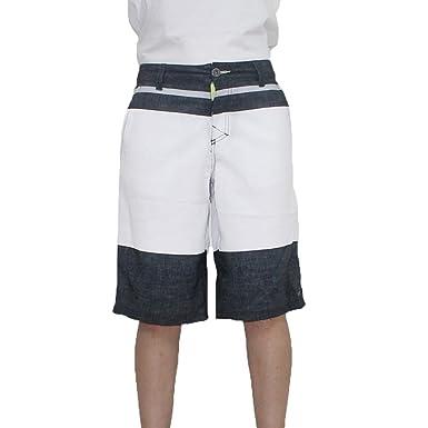 Mens Tony Hawk Board Surf Shorts Button Flap Draw Lining Swim Trunks 5 Pockets