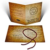 Kabbalah Red String Set From Jerusalem with Prayer and Instruction