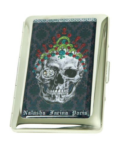 Holder for France Women Credit or Designs Business Skull from Holder Card Card 06xBTgH
