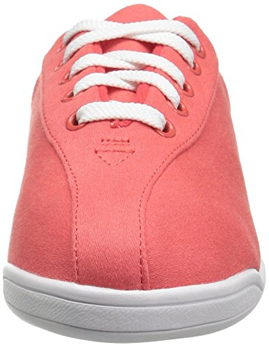 Easy Spirit Donna Ap1 Walking Shoe Tessuto Rosso / Bianco