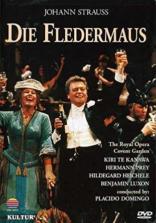 Amazon.com: Johann Strauss - Die Fledermaus / Domingo, Te Kanawa ...