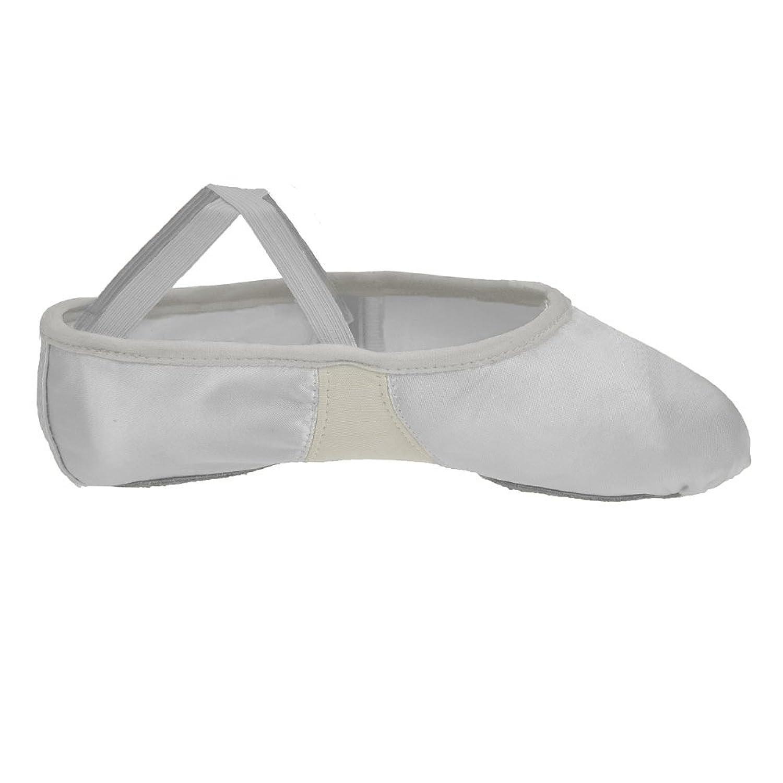 84351a5e934 Dance Gear Satin Split Sole Ballet Shoes  Amazon.co.uk  Shoes   Bags