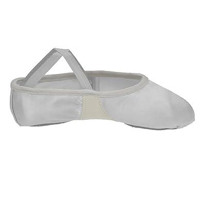 Starlite Flexi Black Split Sole Sole Leather Ballet Shoes 11 s yXyzz