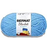 Bernat Blanket Bright Yarn, Racecar Red