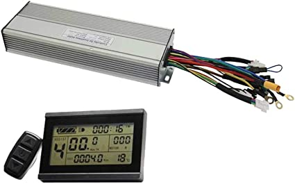 E-Bicycle 36V//48V 500W Or 750W Brushless DC Controller 9 MOSFET 25A For E-Bike