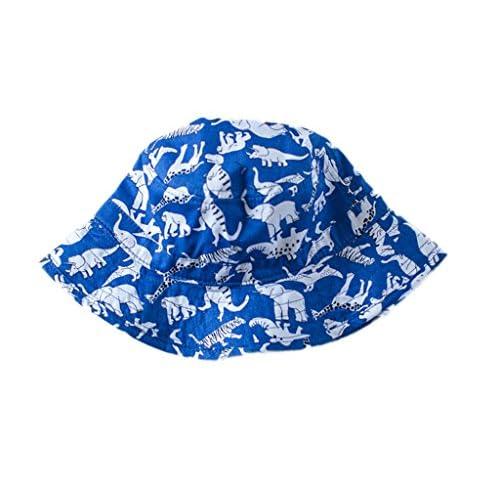 La Vogue Baby Boys Dinosaur Printed Bucket Hat Sun Visor