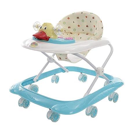 WMYJXD Andador para Bebé para Niños Y Niñas con Bandeja De ...