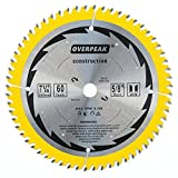 OVERPEAK Ultra Fine Finish Saw Blade 7 1/4 Inch 60 Tooth...