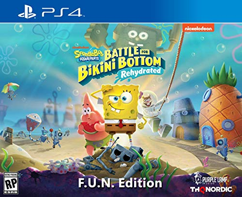 Spongebob Squarepants: Battle for Bikini Bottom – Rehydrated – F.U.N. Edition (PlayStation 4) – PlayStation 4 F.U.N…