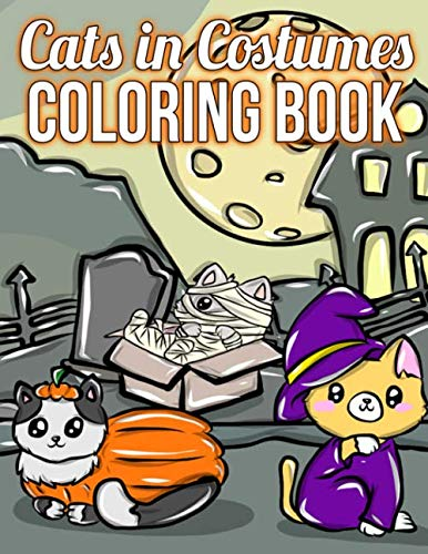 Sabrina Halloween Special (Cats In Costumes: A Halloween Coloring Book For Cat)