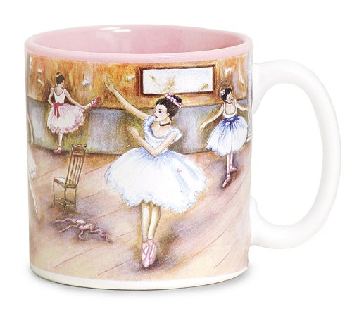 Ballet Dance 13oz Coffee Mug with Dancing Ballerinas Gift Boxed