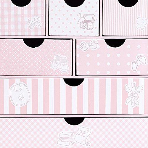Caja Recuerdos Beb/é Rosa