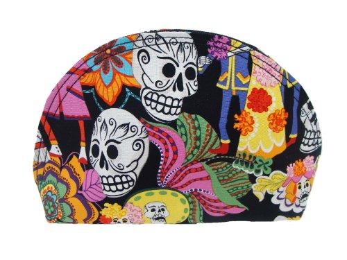 USA Handmade Fashion LOS NOVIOS GOTHIC PATTERN COSMETIC BAG CLUTCH BAG Handbag Purse, NEW, BCB 1022