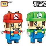 LOZ Mini Block Character Series Luigi and Mario 1706