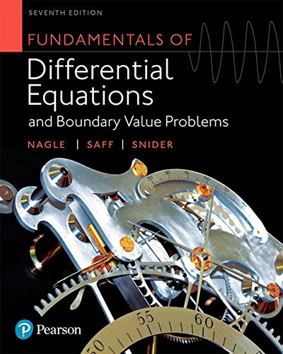 Fundamentals of Differential Equations and Boundary Value Problems (7th Edition)