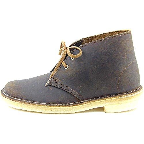 Clarks Originals Women's Desert Lace-Up Boot,Beeswax,8.5 M US